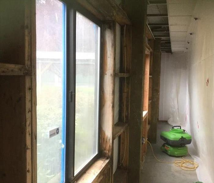 Mold Remediation at a commercial building in Aurora, OR After